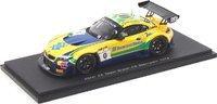 2014 BMW Z4 GT3 Team Brasil n.0, C. Bueno - S. Jimenez Model Car in 1:43 Scale by Spark