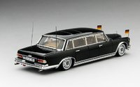 1963 Mercedes-Benz 600 Pullman State Limousine Model Car in 1:43 Scale by Truescale Miniatures
