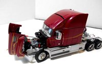 1993 Mack Semi TRACTOR RED in 1:32 scale by The Franklin Mint