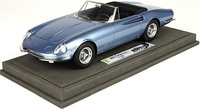 1966 Ferrari 365 California Fine Resin Model Car in 1:18 Scale by BBR