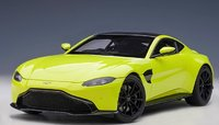 2019 Aston Martin Vantage in Lime Essence in 1:18 Scale by AUTOart
