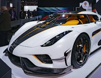 Koenigsegg Regera GHOST PACKAGE in CRYSTAL WHITE 1:18 Scale by AUTOart