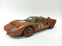 "Ford GT40 '66 LeMans #5 ""After Race"" in 1:18 scale by Shelby Collectibles"