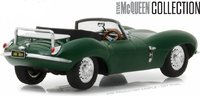1956 Jaguar XKSS with Steve McQueen Figure Model Car 1:43 Scale by Greenlight