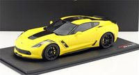Chevrolet Corvette Grand Sport Corvette Racing Yellow in 1:18 Scale by Topspeed