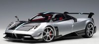 Pagani Huayra BC in Grey and Carbon in 1:18 Scale by AUTOart
