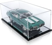 Acrylic Display Case w/mirrored base for 1:18 scale models