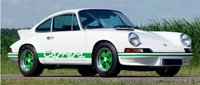 Porsche 911 RS 1973 White in 1:12 scale by Norev