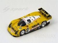 Toyota 89 C-V No. 37 LM 1989, K. Hoshino - A. Suzuki -  D. Artzet  Diecast Model Car in 1:43 Scale by Spark