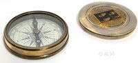 Beetles Compass w leather case by Old Modern Handicrafts