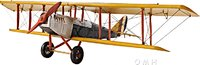 YELLOW CURTIS JENNY PLANE in 1:18 scale by Old Modern Handicrafts