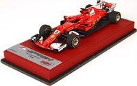 Ferrari SF70-H GP Brazil Winner Sebastian Vettel in 1:43 Scale by BBR