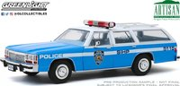 1988 Ford LTD Crown Victoria Wagon NYPD in 1:18 by Greenlight