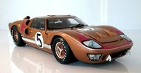 1966 Ford GT40 Mk II LeMans #5 in 1:18 Scale by Shelby Collectibles