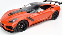 2019 Corvette ZR1 in Sebring Orange in 1:12 Scale by GT Spirit