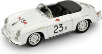 1955 Porsche 356 Speedster Palm Springs Road Race James Dean #23F in 1:43 scale by BRUMM