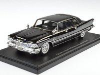 1958 Imperial  Crown Ghia Sedan black in 1:43 scale by Neo