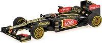 2013 LOTUS F1 TEAM RENAULT - KIMI RAIKKONEN - SHOWCAR Diecast Model Car in 1:43 Scale by Minichamps