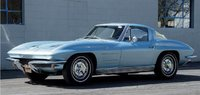 1963 Chevrolet Corvette Sting Ray Light Blue Metallic in 1:18 scale by Norev