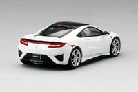 2017 Acura NSX  130R White (LHD) Resin Model Car in 1:43 Scale by Truescale Miniatures