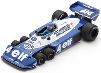 Tyrrell P34 No.4 3rd South African GP 1977 Patrick Depailler in 1:18 scale by Spark