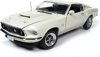 1969 Ford Mustang Fastback Boss 429 Hardtop Class of '69 50th Anniversary in 1:18 Scale by Auto World