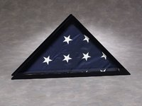 4' x 6' Flag Case: Black Frame