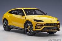 Lamborghini Urus Giallo Auge/Solid Yellow in 1:18 scale by AUTOart