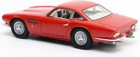 Jaguar D-type LM Michelotti in Red Resin Model Car in 1:43 Scale by Matrix