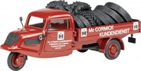 Tempo 3-Rad MC CORMICK Diecast Model Car in 1:43 Scale by Schuco