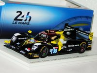 ORECA 07 - Gibson No.38 Jackie Chan DC Racing 2nd LMP2 class 24H Le Mans 2019 in 1:43 Scale by Spark