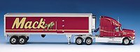 MACH Refrigerated TRAILER in 1:32 DIECAST by FRANKLIN MINT