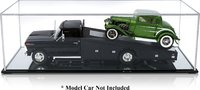 Ramp Truck Model Display Case w/ mirrored base for 1:18 scale Ramp Trucks
