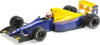Tyrrell 018  JOHNNY HERBERT  BELGIAN GP 1989 in 1:18 Scale by Minichamps