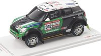 Mini Countryman All4 Racing # 302 2012 Dakar Rally Winner Model Car in 1:43 Scale TSM