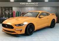 2019 Ford Mustang GT in Orange Fury by Diecast Masters in 1:18 Scale