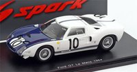 1964 Ford GT40 #10 24 Hours of Le Mans by Spark in 1:43 Scale