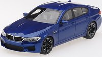 BMW M5  Yas Marina Blue Metallic in 1:43 Scale by Truescale Miniatures
