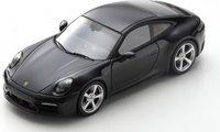 2019 Porsche 992 Carrera 4 S black in 1:43 scale by Spark