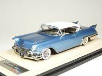 1957 Cadillac Eldorado Seville Bahama Blue Metallic in 1:43 Scale by Stamp Models