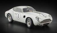 1961 Aston Martin DB4 GT Zagato No. 1 Le Mans by CMC in 1:18 Scale