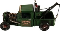 Handmade Vintage Tow Truck Model by Old Modern Handicrafts