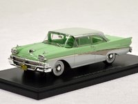 Ford Fairlane 500 Hardtop 1958 Turquoise/White in 1:43 Scale by NEO
