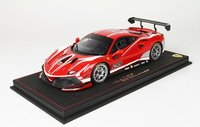 2020 Ferrari 488 Challenge #28 red in 1:18 scale by BBR