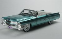 1964 Cadillac De Ville in Firemist Aquamarine in 1:43 scale by Goldvarg Collection