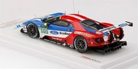 Ford GT LMGTE PRO #69 2017 Le Mans Ford Chip Ganassi Team USA in 1:43 Scale by TSM