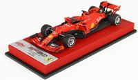 Ferrari SF90 Italian Grand Prix 2019 S. Vettel in 1:43 scale by BBR