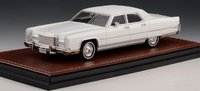 1973 Lincoln Continental Town Car White in 1:43 scale by GLM