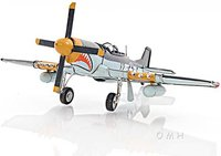 1943 Grey Mustang P51 1:40 Scale by Old Modern Handicrafts