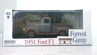 Forest Gump pick up Truck 1:43 scale with green wheels by Greenlight